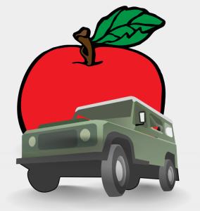Roter Apfel und grüner Jeep oder wie merke ich mir eine Tatstaur