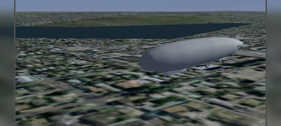"Zeppelin LZ 121 ""Nordstern"" und FlightGear"