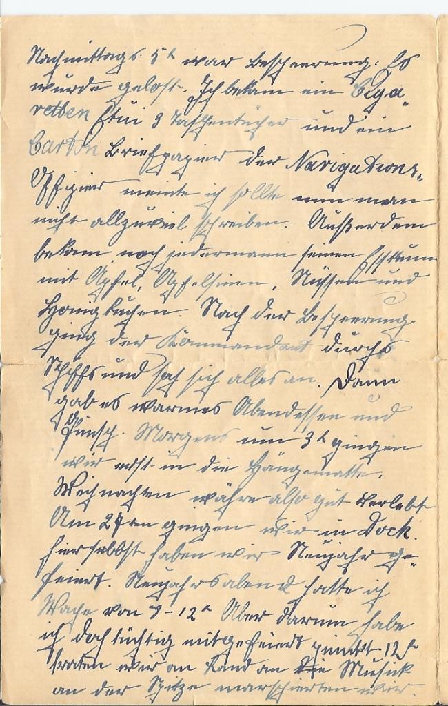 Brief aus Hong-Kong, 2. Feb 1904, Seite 2